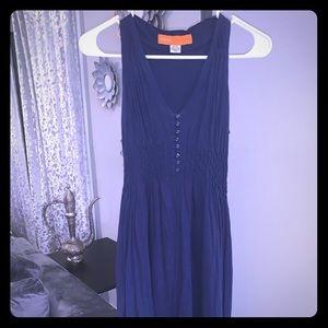 Cynthia Steffe Casual Navy Blue Dress